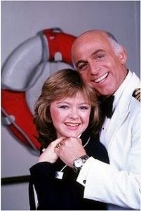 Captain Merrill Stubing and daughter Vicki from The Love Boat
