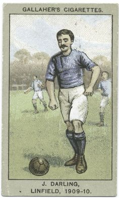 J. Darling, Linfield, 1909-10. From New York Public Library Digital Collections.
