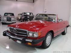 DANIEL SCHMITT & CO CLASSIC CAR GALLERY PRESENTS: 1987 MERCEDES-BENZ 560SL CONVERTIBLE