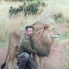Magnificent Kevin Richardson Love and trust among human and animal Kevin Richardson, Big Cats, Cool Cats, Cats And Kittens, Beautiful Cats, Animals Beautiful, Animals And Pets, Cute Animals, Lion Love