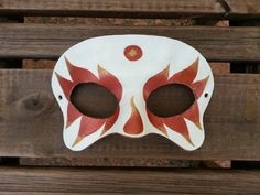 Flame Skull Mask  Ready To Ship by BoondockStudios on Etsy, $45.00