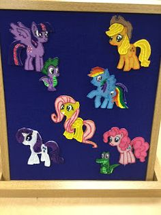 from the Biblio Files: Felt Board: My Little Pony