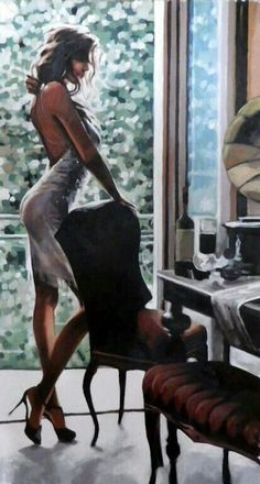 View Thomas Saliot's Artwork on Saatchi Art. Find art for sale at great prices from artists including Paintings, Photography, Sculpture, and Prints by Top Emerging Artists like Thomas Saliot. Thomas Saliot, Moda Afro, Saatchi Online, Woman Painting, Sexy Painting, Painting Art, Erotic Art, Belle Photo, Female Art