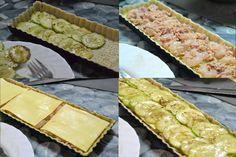 Cocinando con Kisa: Pastel de calabacin, atún y gambas (Forma tradicional)