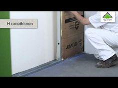 Πως να μονώσω έναν τοίχο με γυψοσανίδα; - YouTube
