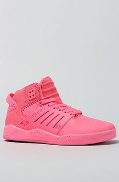 The Skytop III Sneaker in Pink by SUPRA