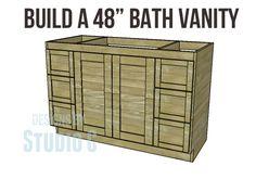 Build a 48″ Bath Vanity | Designs by Studio C