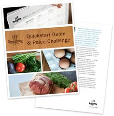 lots of paleo recipes separated by type of meal and main ingredient. list on recipe page--not pictures