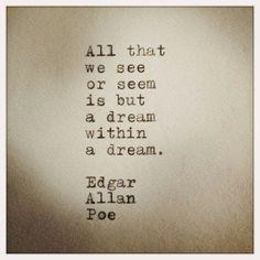Cratalis / Autorenblog von Herbert Blaser: A dream within a dream