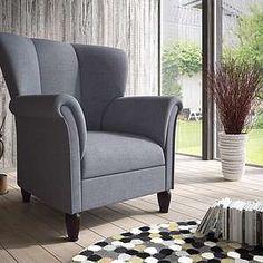 Home Affaire Relaxsessel »Strawinsky«, blau, hoher Sitzkomfort