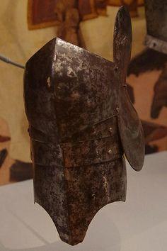 Knee defense (poleyn) for the left knee Army List, Leg Harness, Armor Clothing, Arm Armor, Medieval Armor, 15th Century, Milan, Italy, Legs