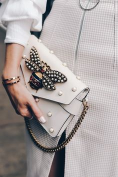 #bag #perls #white