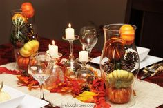 Thanksgiving Tablescape -