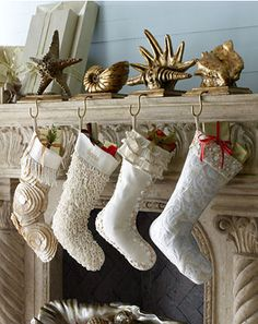 Nautical Christmas - pinned this just for Susan...