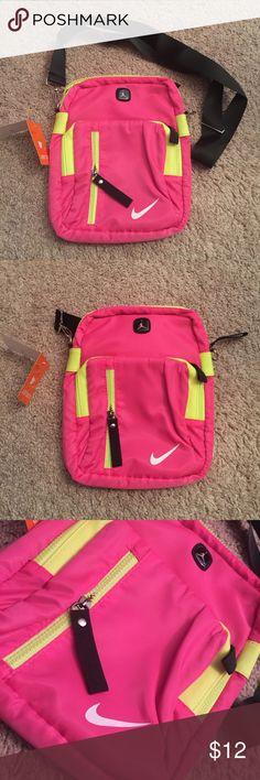GENERIC NIKE JORDAN CROSS BODY BAG WITH STRAP BRAND NEW GENERIC NIKE JORDAN CROSS BODY BAG WITH STRAP. (Not real Nike) Nike Bags Mini Bags