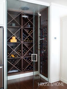 Walk-In Wine Cellar | Photo Gallery: Gorgeous Wine Cellars | House & Home | Photo by Monic Richard