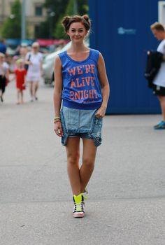 #outfit #summer #style #fashion #päivänasu #look #dress #robin #stadium #helsinki #style #streetstyle
