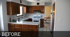 Before & After: 3 Unique Kitchen Remodeling Projects Home Remodeling, Kitchen Remodeling, Remodeling Contractors, Kitchen Flooring, Kitchen Cabinets, Diy Kitchen Remodel, Home Additions, Cool Kitchens, Small Kitchens