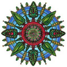 Woodland Mandala by Artwyrd.deviantart.com on @deviantART