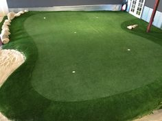 Our indoor putting green. Love it. | Golf | Golf by Walter Shelton ...