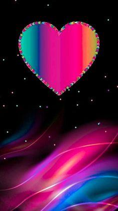 Love Pink Wallpaper, Bling Wallpaper, Pretty Phone Wallpaper, Phone Wallpaper Images, Flower Phone Wallpaper, Rainbow Wallpaper, Pink Wallpaper Iphone, Heart Wallpaper, Apple Wallpaper