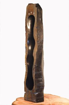 Basalt stone column carved by Daniel Poisson of Pitch and Trace Industries in Victoria BC Canada. Sculpture Art, Sculptures, Victoria Bc Canada, Basalt Stone, Backyard Renovations, Stone Columns, Gravure, Stone Art, Building Design