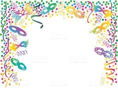 convite festa a fantasia Editar Mardi Gras Party, Confetti, Carnival, Wallpaper Backgrounds, Prom Invites, Carnival Invitations, Kids Part, Simple Costumes, Party