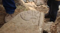 Rare Pictish stone with dragon carving found on Orkney - BBC News Scotland History, Book Of Kells, Celtic Patterns, Mystery Of History, Early Christian, Iron Age, Effigy, Picts, Dark Ages