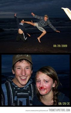 Let's take a photo while we jump…this would be mine. LOL. I can't stop laughing at this.
