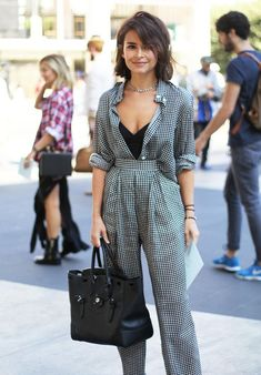 Looks Street Style, Nyfw Street Style, Stylish Outfits, Fashion Outfits, Womens Fashion, Fashion Fashion, Marine Look, Mode Simple, Everyday Fashion