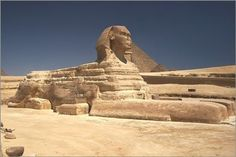 great SPHINX OF GIZA historical archeological poster EGYPTIAN ART 24X36 new