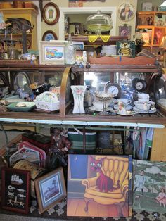 Changed up the Entry and re-filled the Antique Cigar Display Cabinet at Tons of Treasures in Laguna Niguel ~ Like us on Facebook!  https://www.facebook.com/pages/Tons-of-Treasures/112400565564963