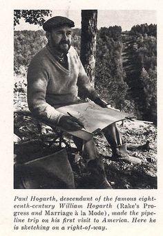 Paul Hogarth   EYE-LIKEY