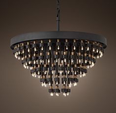Cosmos 5-Ring Chandelier