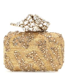 mytheresa.com - Memento Cloud crystal-embellished box clutch - Luxury Fashion for Women / Designer clothing, shoes, bags