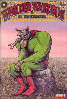WONDER WART-HOG. EL SUPERSERDO POR GILBERT SHELTON NUMERO 6 (Tebeos y Comics - La Cúpula - Comic USA)