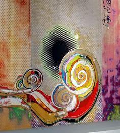 Takashi Murakami The Emergence of God at the Reversal of Fate (2007)