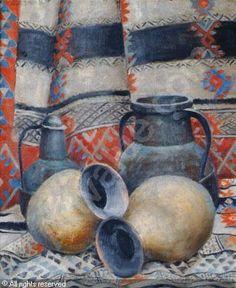 """ROUBTZOFF Alexandre,""""Vases, cuivres et tapis nomades"""""""