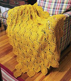 Ravelry: Golden Pineapples pattern by Annie's Attic very vintage looking.