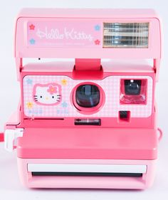 Hello Kitty Polaroid, OMG I would absolutely love one of these! :) I've always had a thing for Polaroid pictures! Hint Selina, let your dad know. Hello Kitty House, Hello Kitty Items, Hello Kitty Birthday, Sanrio Hello Kitty, Hello Kitty Things, Hello Kitty Kitchen, Princess Toys, Kawaii Room, Hello Kitty Collection