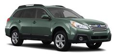 Subaru outback 2013 green pearl: Picture a beagle in the back, a husband in the passenger seat, and two kayaks on top! Summer 2014!