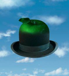 René Magritte - Bowler Hat