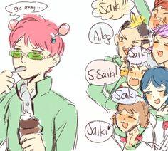 The Disastrous Life of Saiki K Anime Manga, Anime Art, Psi Nan, Otaku, Animes On, Memes, Fanart, 2d Character, Anime Shows