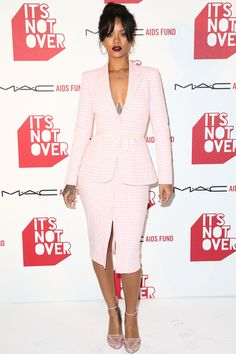Rihanna attends the premiere of It's Not Over at Quixote Studios on Nov. 18, 2014, in Los Angeles.  -Cosmopolitan.com