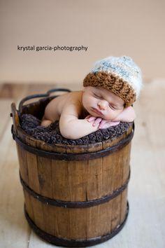 Newborn Ribbed Beanie by PetuniaandIvy on Etsy, $24.00
