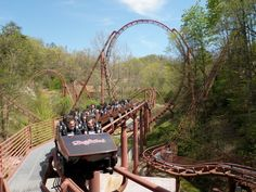 Final break run on Tennessee Tornado at Dollywood, Pigeon Forge - Photo by Electerik, Theme Park Review