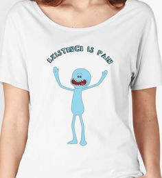 Mr. Meeseeks Existence Is Pain by TaliSora