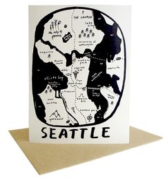 Seattle Greeting Cards