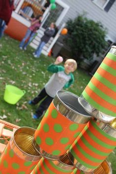 Farm Party for a 2 Year Old: Boy Party Ideas - Spaceships and Laser Beams