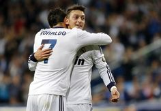Ronaldo & Ozil, Real Madrid.